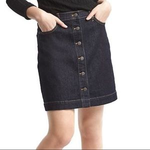 GAP Front Button Down Denim Skirt never worn